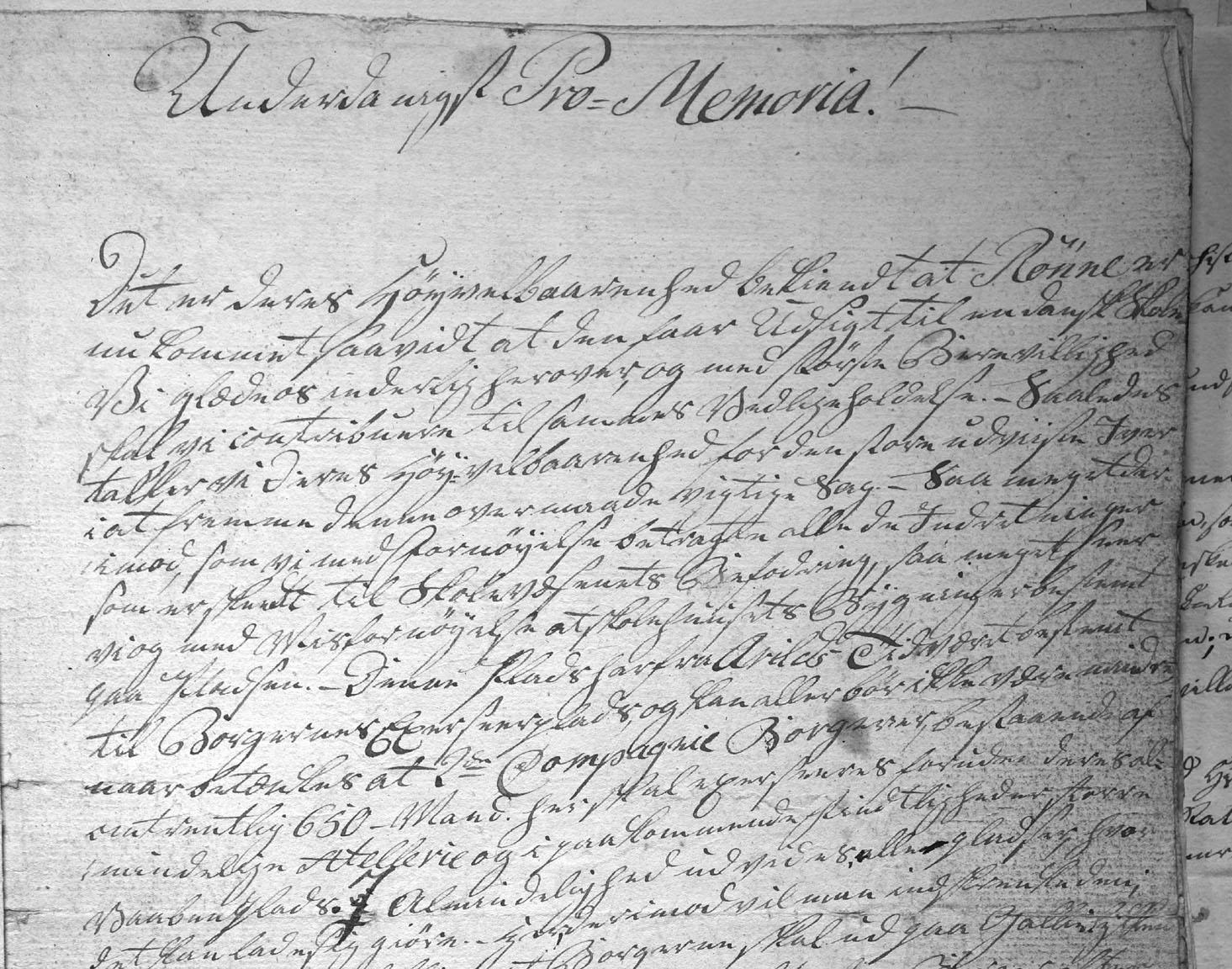 Klage til amtmand Thaarup over skolebyggeriet på Torvet, 8. marts 1806.