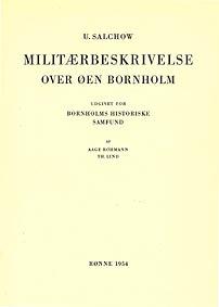 Salchow - Militærbeskrivelse over Øen Bornholm