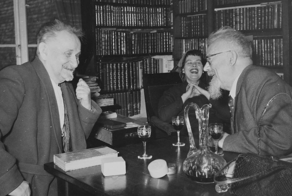 Stibolt 1954 har besøg af Sven Lidman2