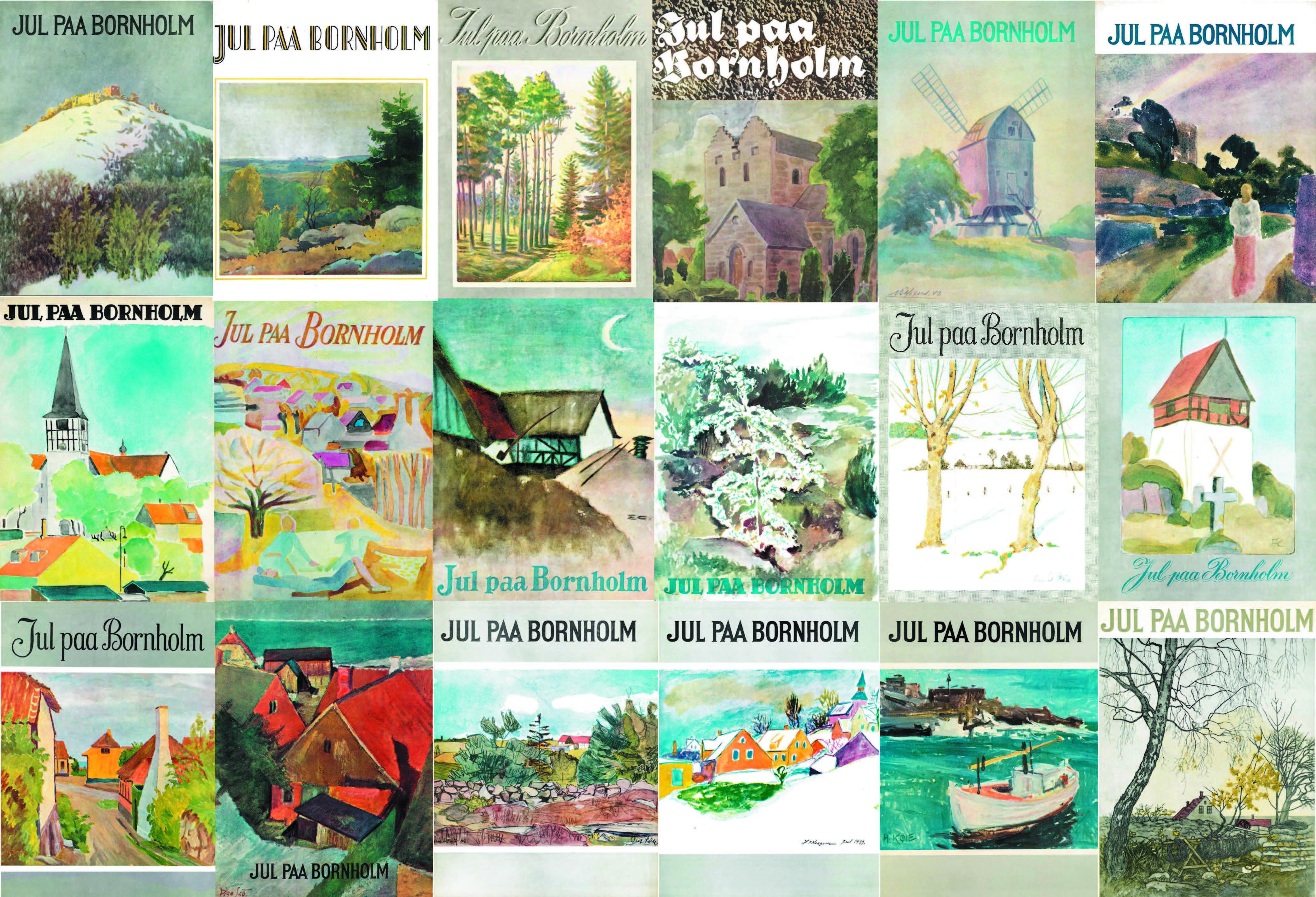 Jul paa Bornholm 1943-1960
